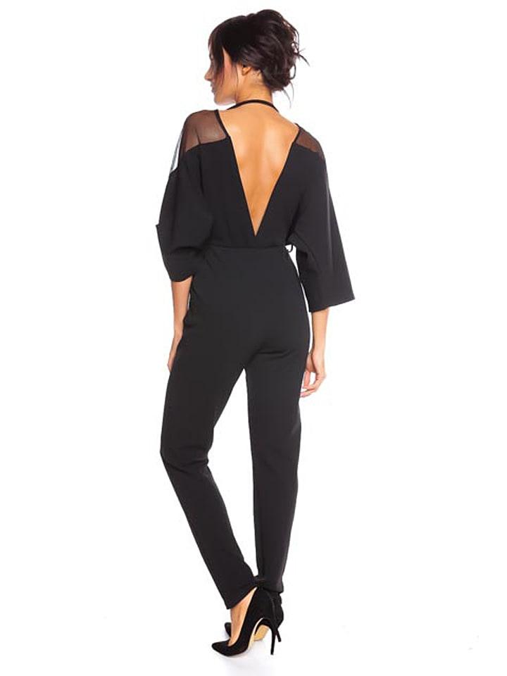 """Saint Germain Paris Jumpsuit """"Clichy"""" in Schwarz"""