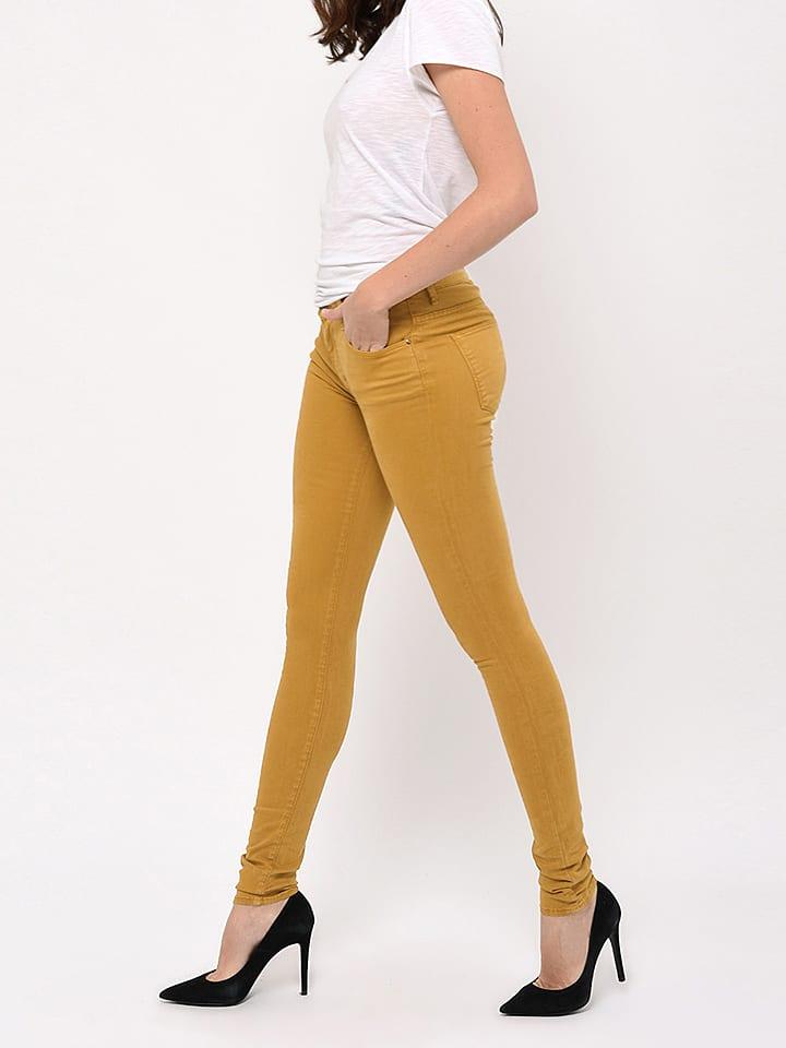 "CIMARRON Jeans ""Emily"" - Skinny - in Gelb"
