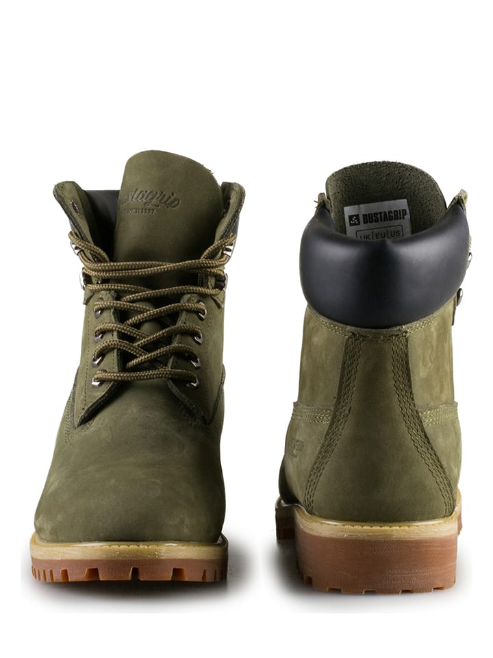"Bustagrip Boots ""King"" in Khaki"