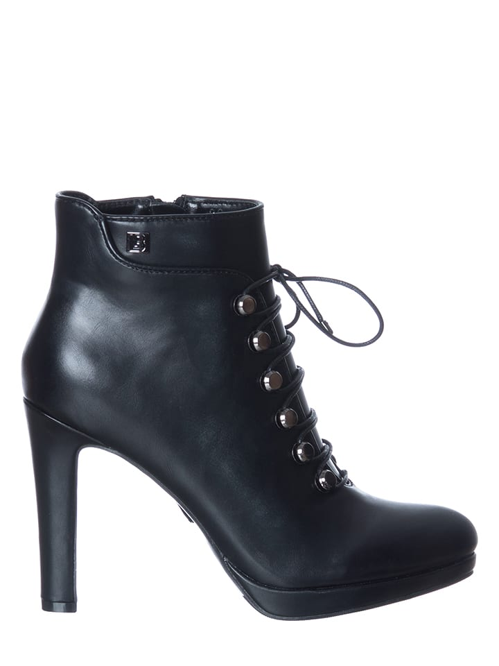 Laura Biagiotti Ankle-Boots in Schwarz