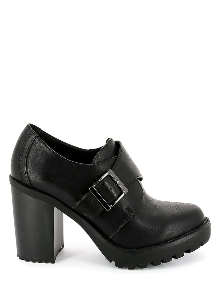 """Initiale Paris Ankle-Boots """"Gaby"""" in Schwarz"""
