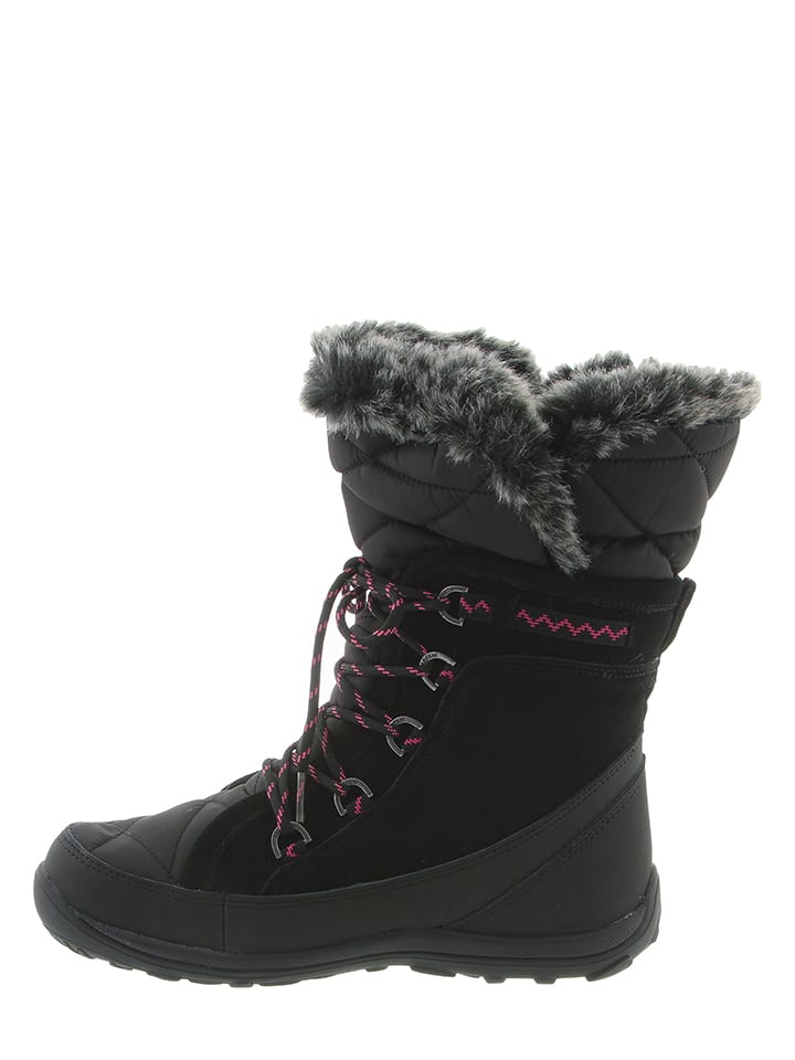 "Bearpaw Leder-Boots ""Whitney Solids"" in Schwarz"