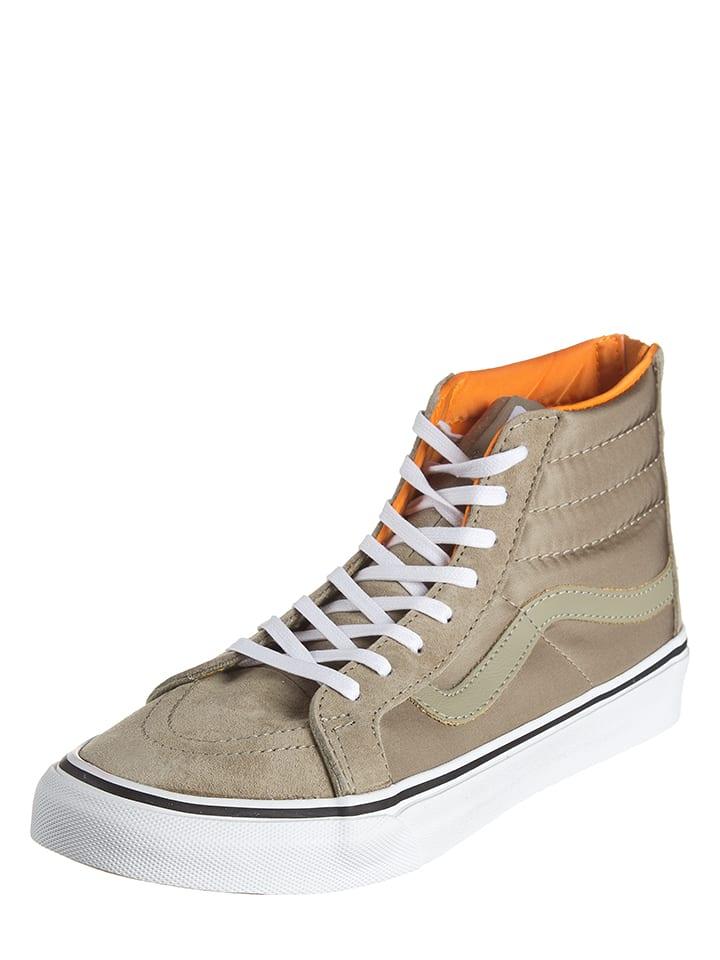 """Vans Leder-Sneakers """"Sk8-Hi"""" in Beige"""