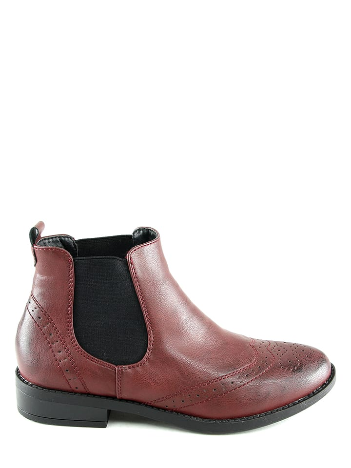 Sixth Sens Chelsea-Boots in Bordeaux