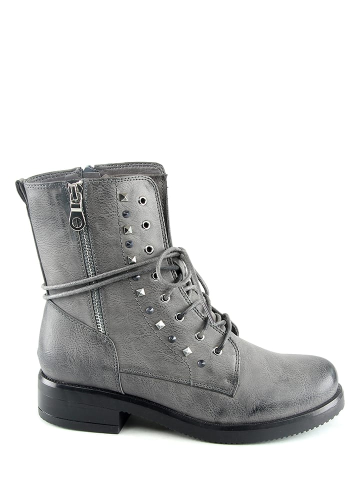 Sixth Sens Boots in Grau