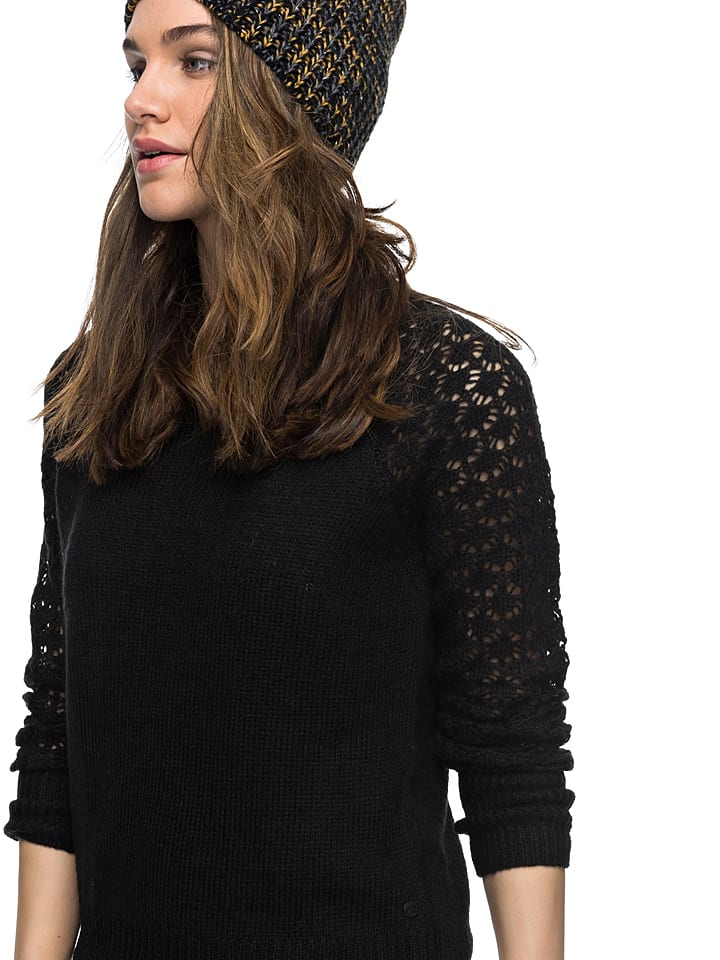 "Roxy Pullover ""Passion Nothing"" in Schwarz"