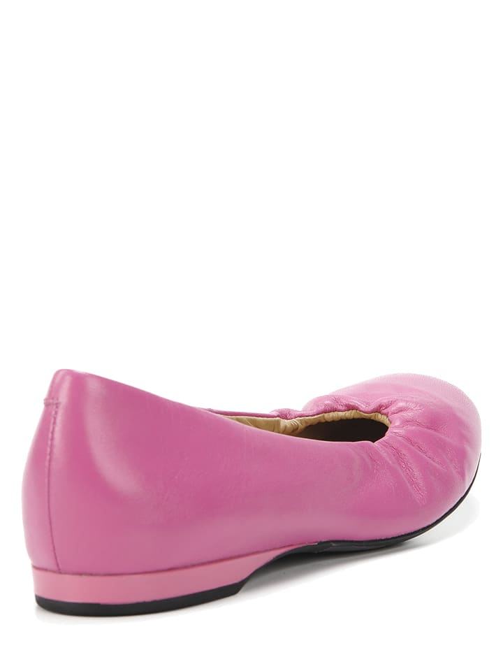 "Geox Leder-Ballerinas ""Lamulay"" in Pink"