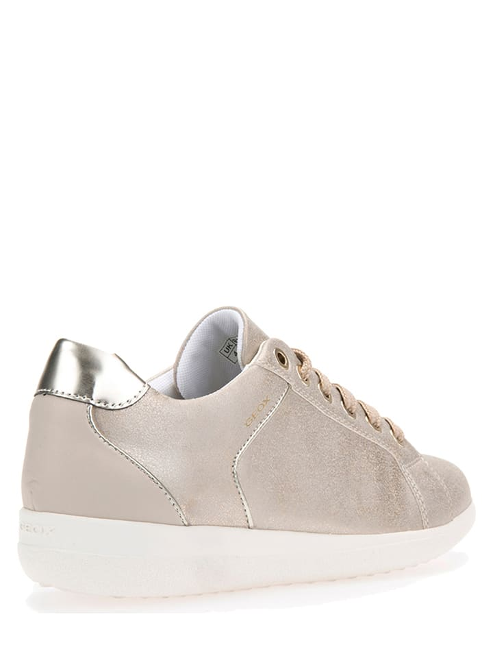 """Geox Sneakers """"Nihal"""" in Taupe"""
