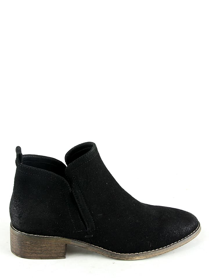 Moow Ankle Boots in Schwarz