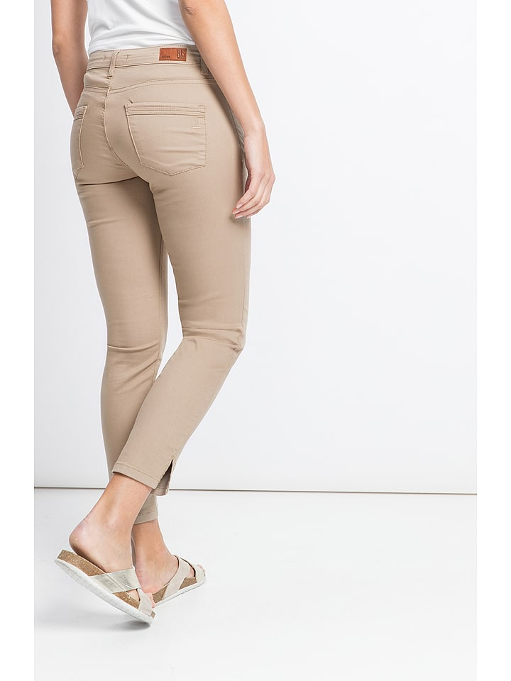 "H.I.S Hose ""Marylin"" - Slim fit - in Beige"