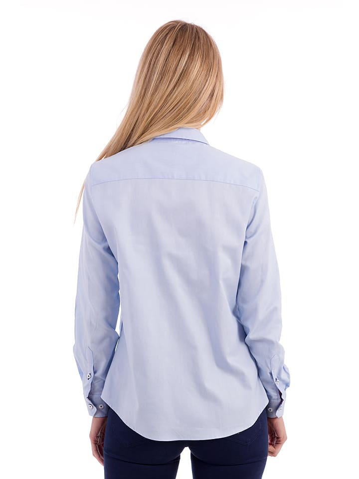 Polo Club Bluse in Hellblau