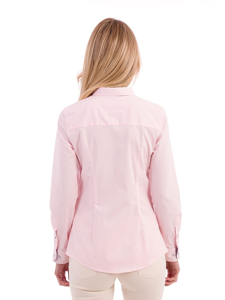Polo Club Bluse in Rosa