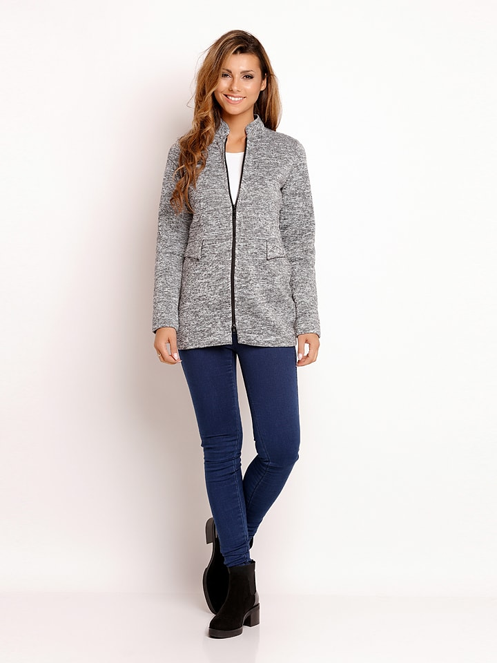 Lou Lou Cardigan in Grau