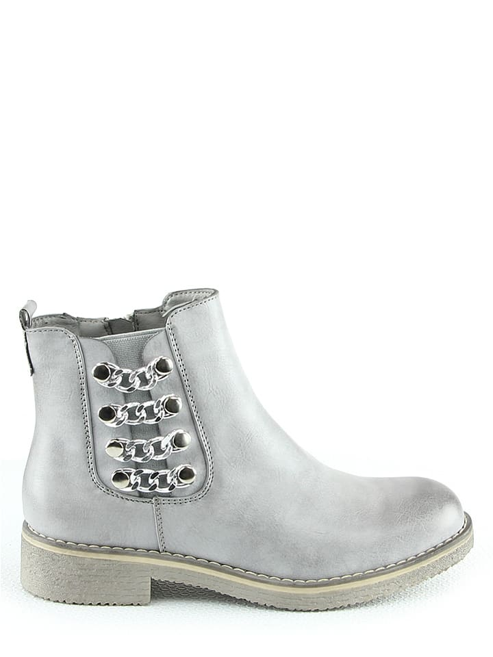 Foreverfolie Boots in Grau