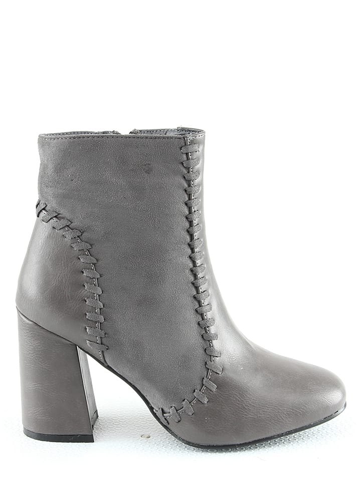 R and BE Stiefeletten in Grau