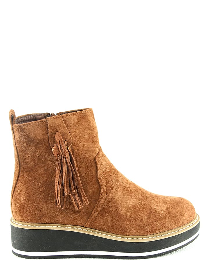 R and BE Boots in Kamel