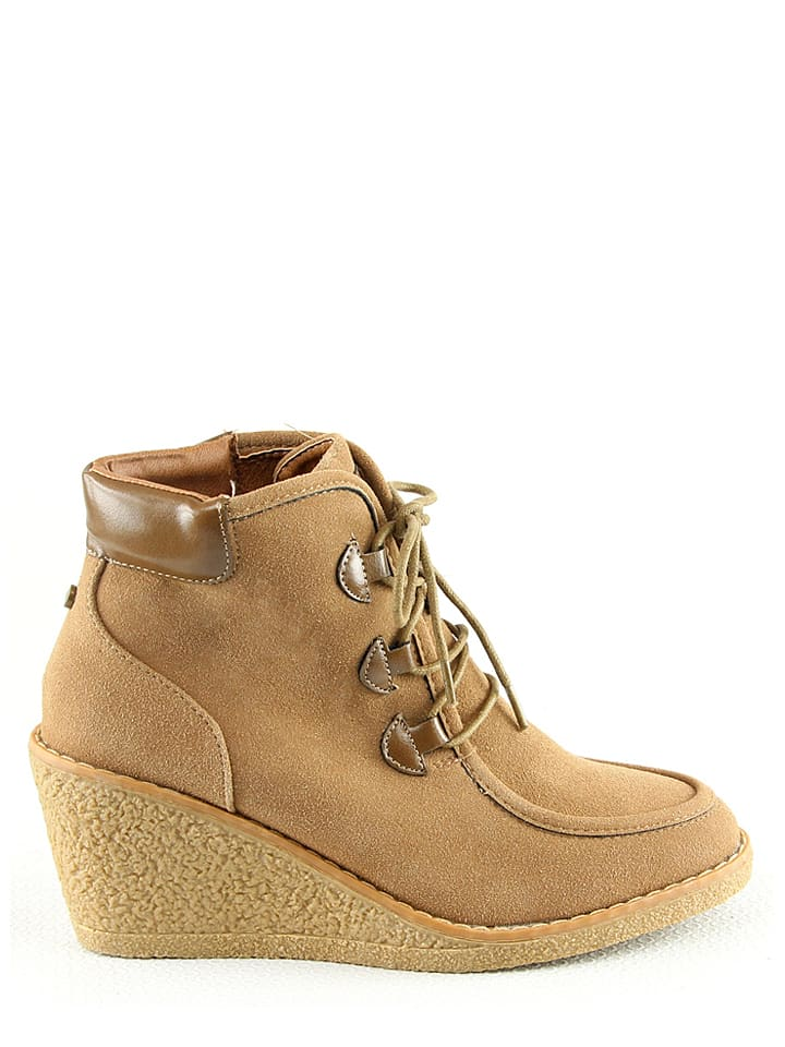 R and BE Stiefeletten in Khaki