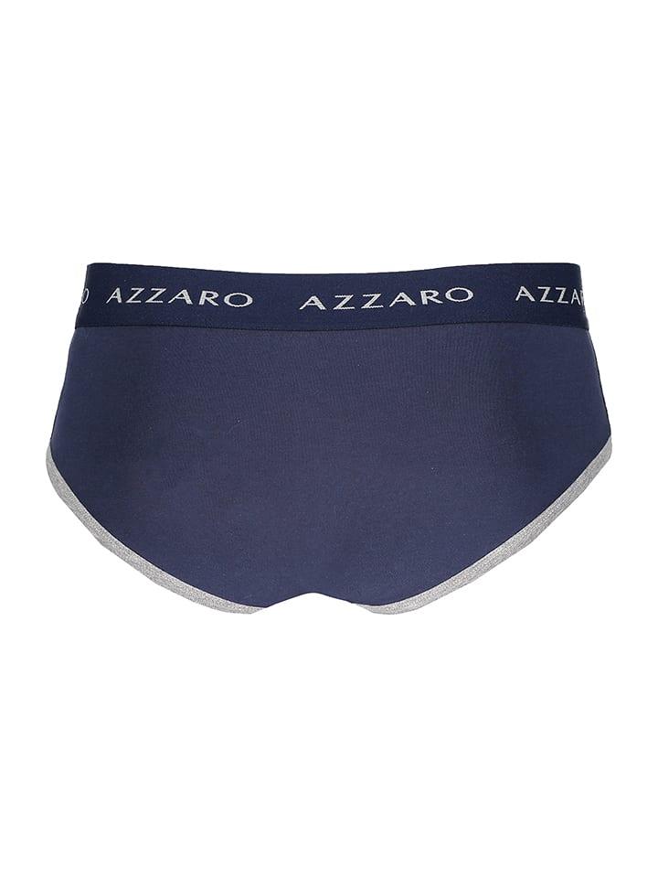 Azzaro Underwear 2er Slips Blau in Azzaro Underwear Set wvq57TC