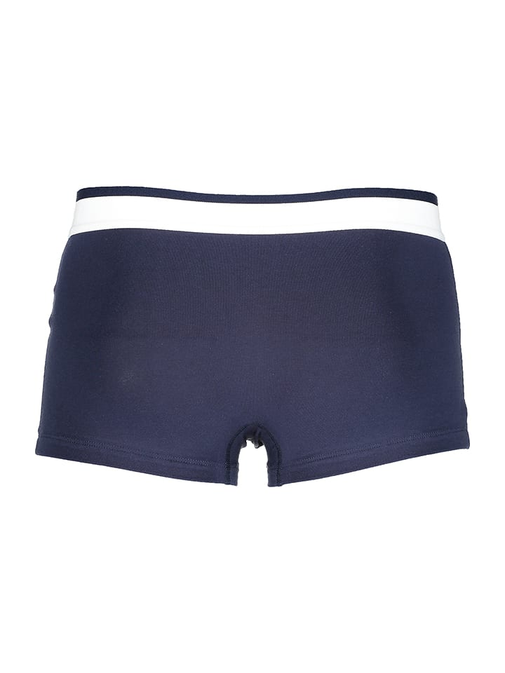Azzaro Underwear 2er-Set: Boxershorts in Dunkelblau/ Schwarz