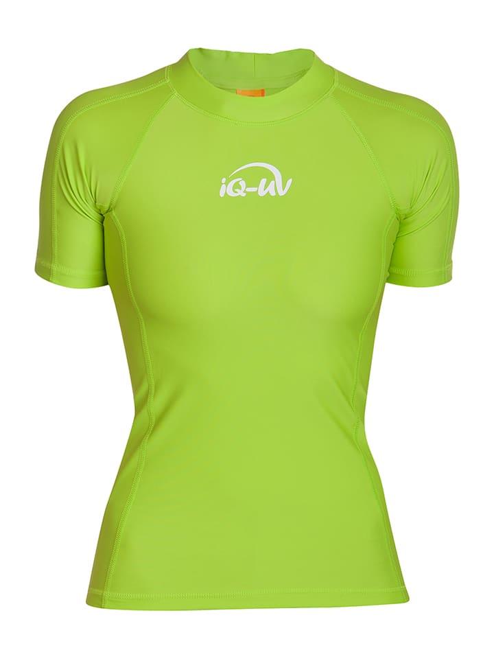 IQ-UV Badeshirt - Slim fit - in Gr眉n