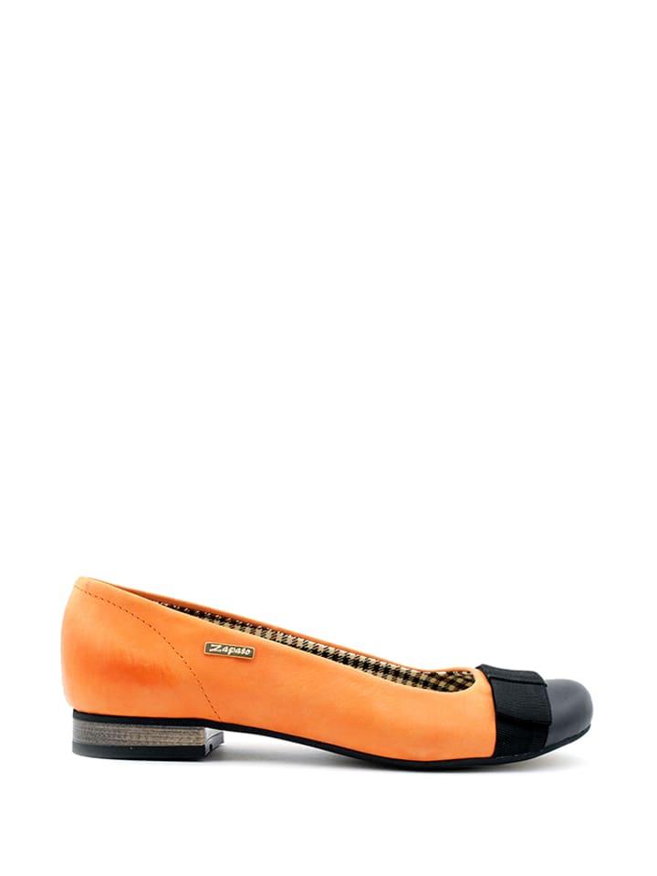 Limango En Cuir Zapato OrangeOutlet Ballerines zSMpUV