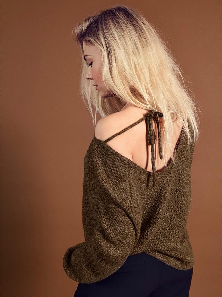 Blend She Pullover in Khaki