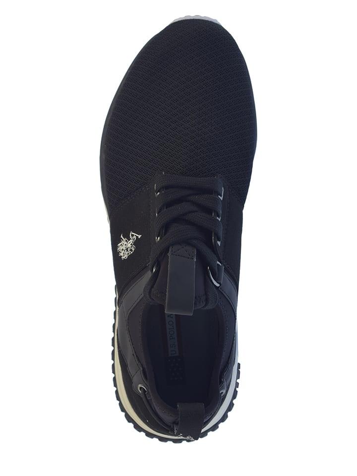 """U.S. Polo Sneakers """"Tevez"""" in Schwarz"""