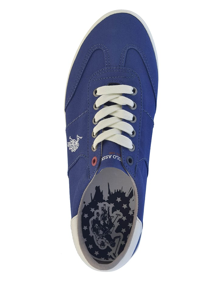 "U.S. Polo Sneakers ""Ted"" in Blau"