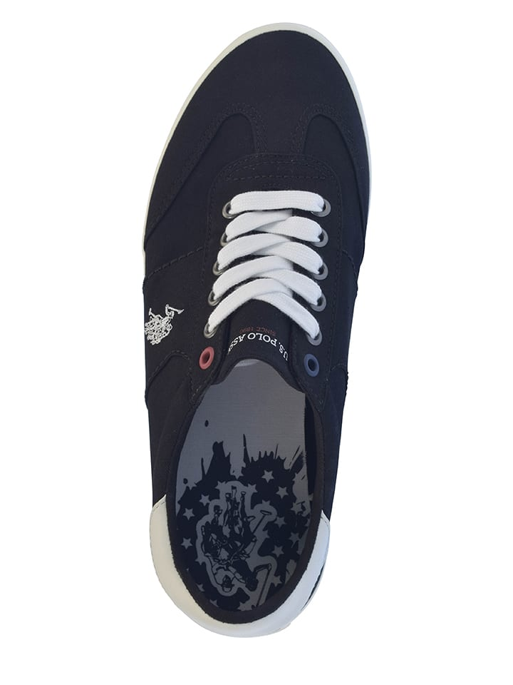 """U.S. Polo Sneakers """"Ted"""" in Schwarz"""