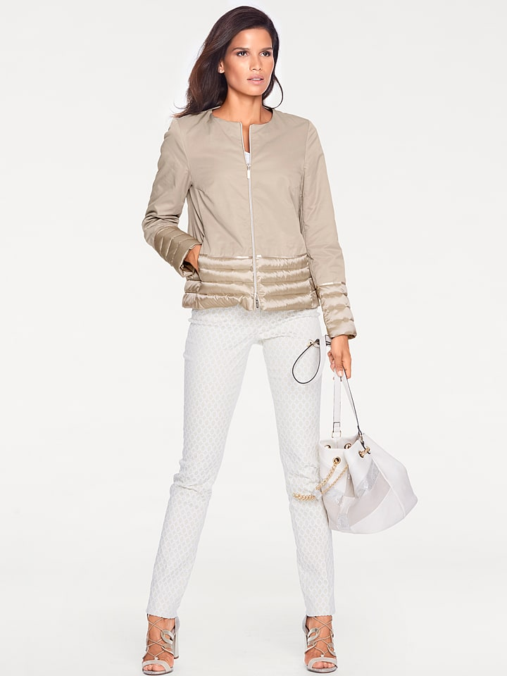 Ashley brooke by heine Jacke in Beige