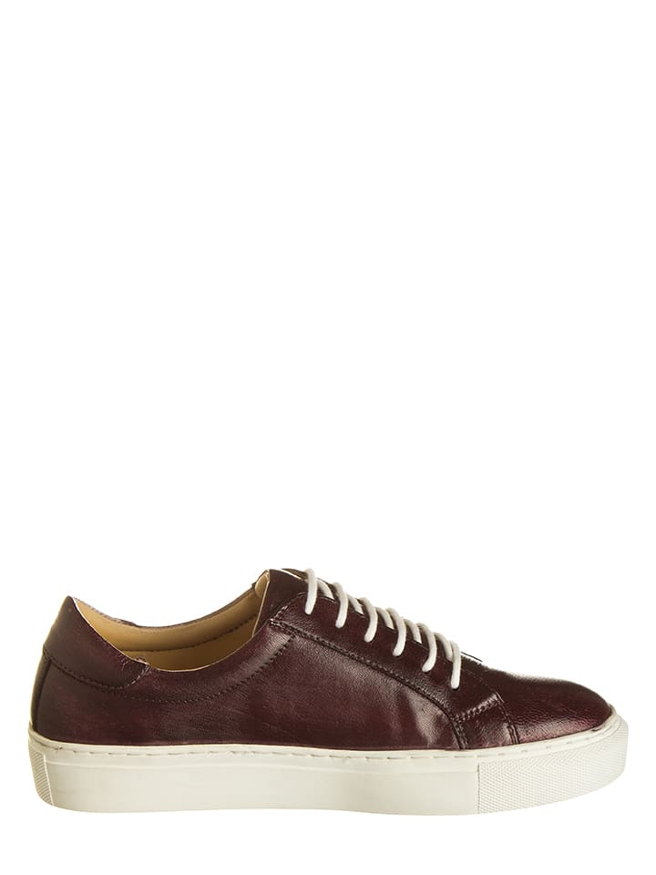 Otto Kern Leder-Sneakers in Braun