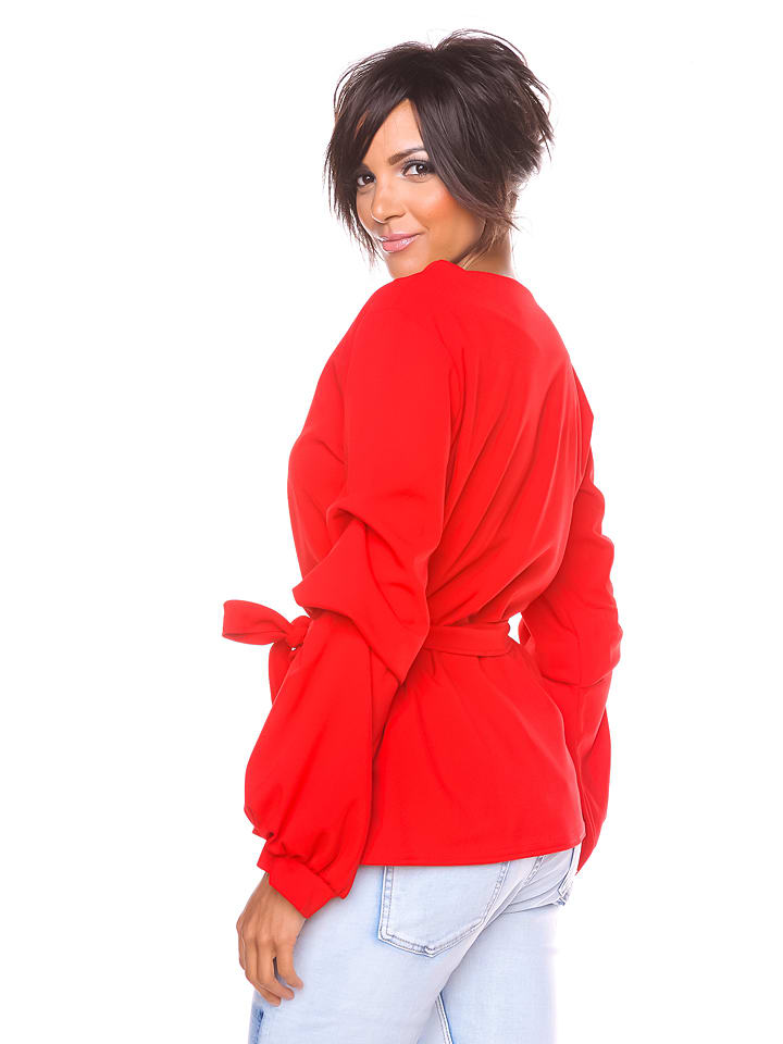 """S... with crystals Shirt """"Dana"""" in Rot"""