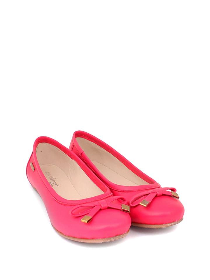 Zapato Leder-Ballerinas in Pink