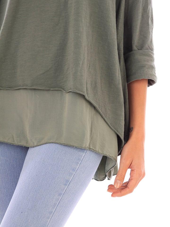 Shirt de Khaki Coton de Fille Fille Coton Khaki Shirt in Fille in tSwRnqxtg