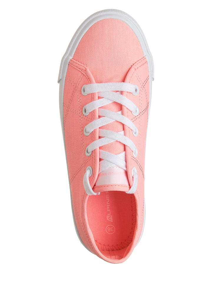 "Alpine Pro Sneakers ""Leura"" in Neon Pink"