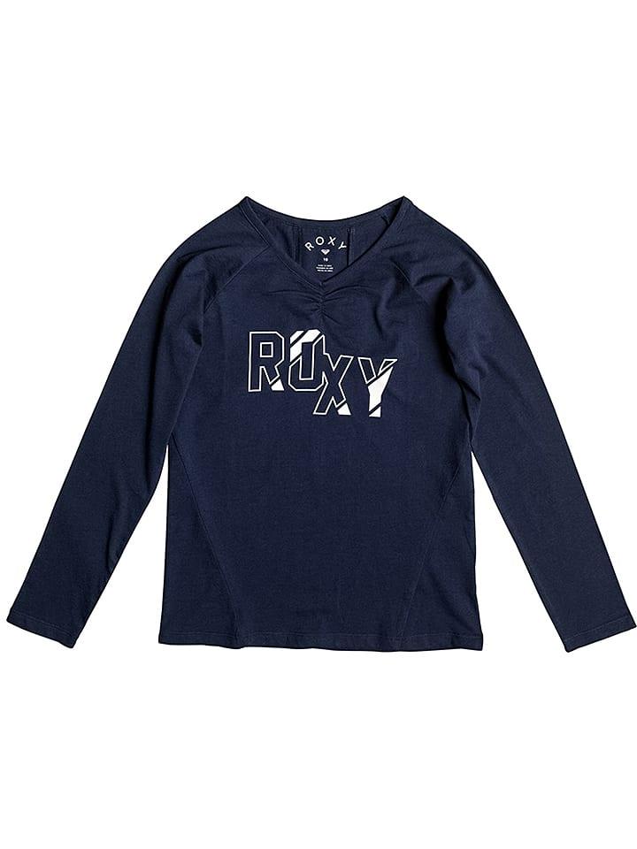 Shirt Bleu Roxy Outlet Manches T Deck Foncé Longues Tarot Pq5wq1