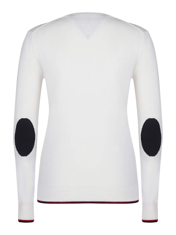 """SIR RAYMOND TAILOR Pullover """"Shot"""" in Creme"""