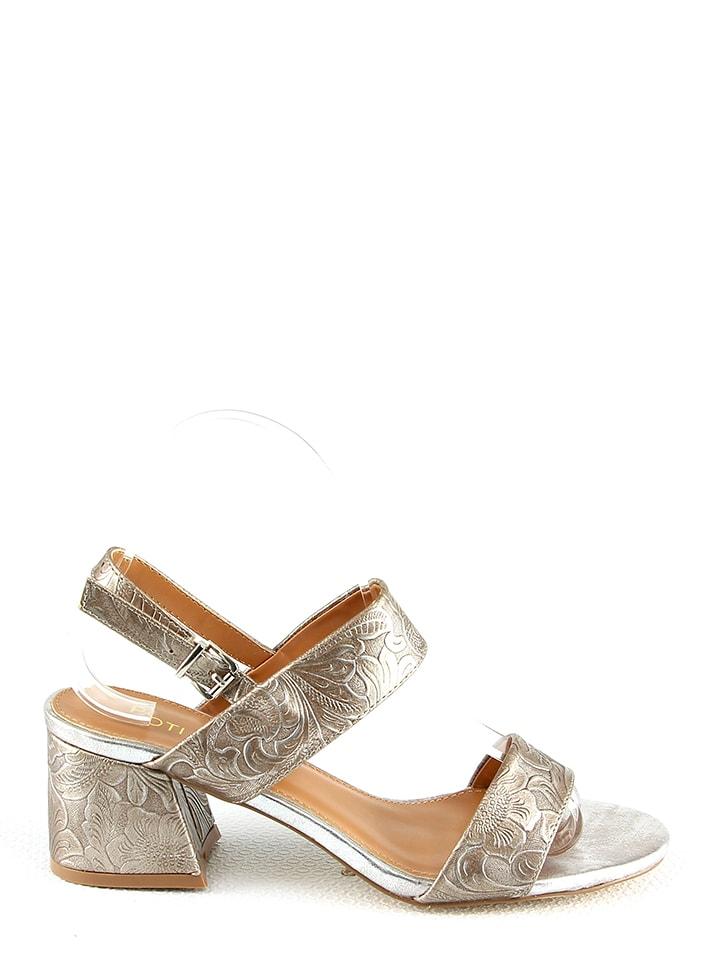Poti Pati Sandaletten in Silber