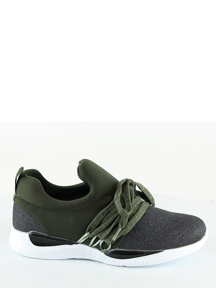 Sixth Sens Sneakers in Gr眉n