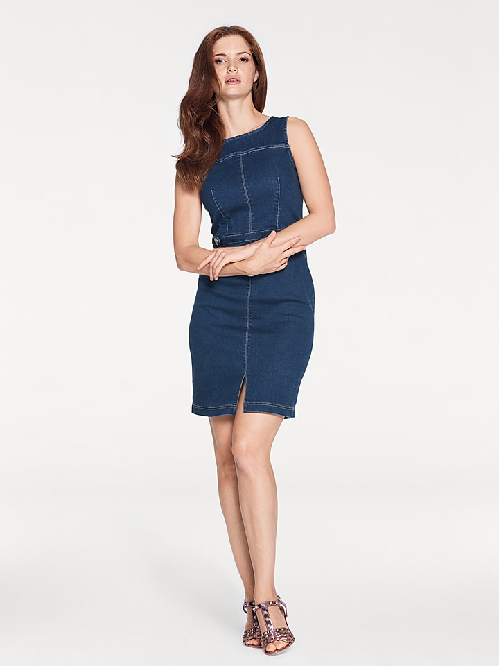 Ashley brooke by heine Jeanskleid in Blau