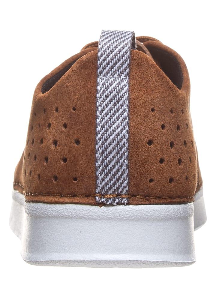 "Boxfresh Leder-Sneakers ""Carle"" in Hellbraun"