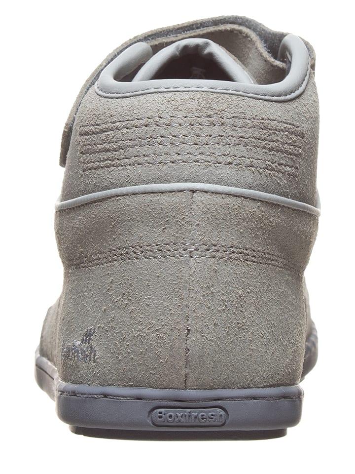 """Boxfresh Leder-Sneakers """"Swich"""" in Graugr眉n"""