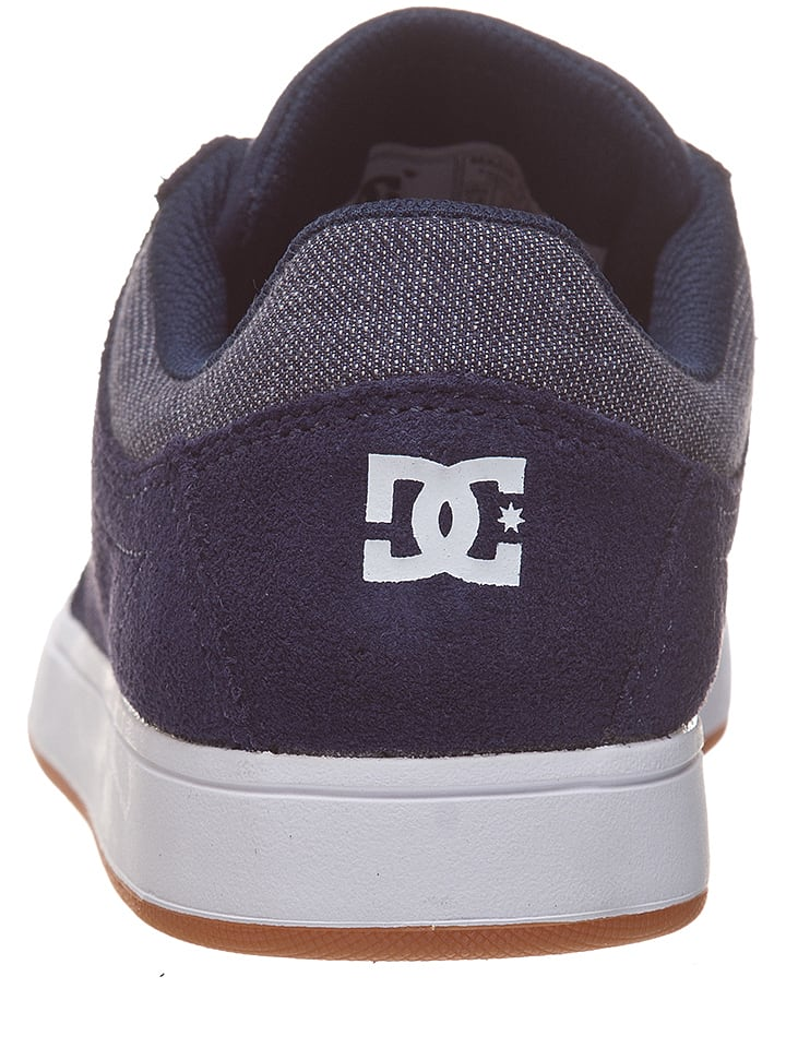 "DC Shoes Sneakers ""Crisis"" in Dunkelblau"