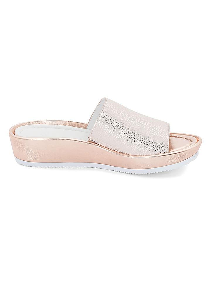 """Ara Shoes Leder-Pantoletten """"Tivoli"""" in Wei"""