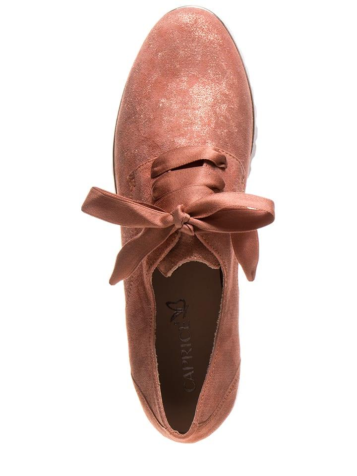 Chaussures En Caprice À RougeOutlet Lacets Cuir Limango SUVzMpq