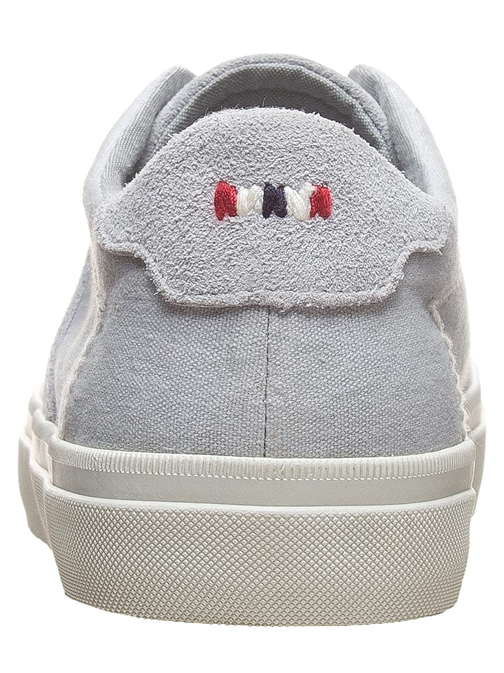 "Napapijri Leder-Sneakers ""Naomi"" in Grau"
