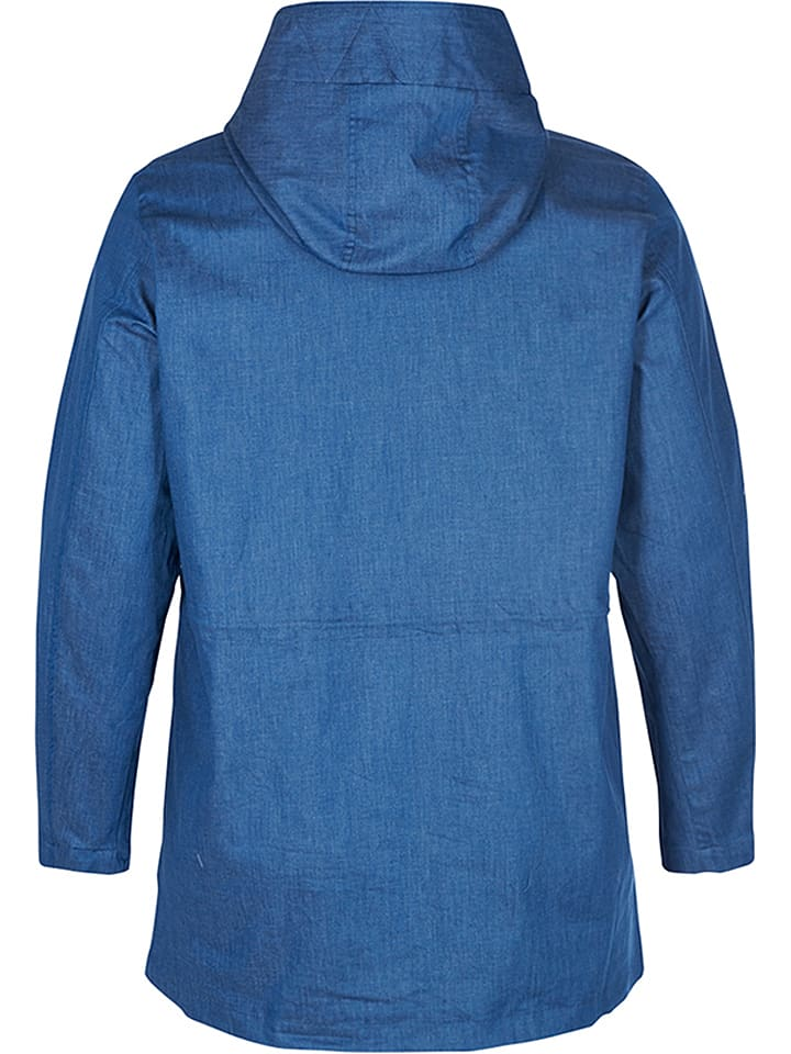 "Zizzi Jacke ""Tapalpa"" in Blau"