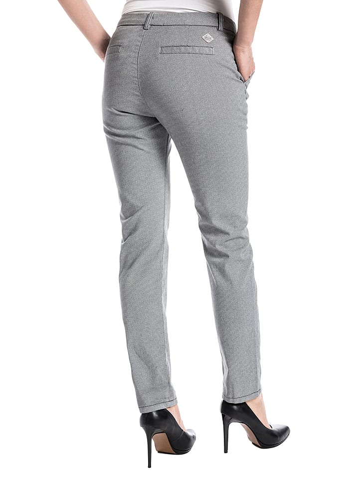 "Timezone Chino ""Lucy"" - Slim fit - in Grau"