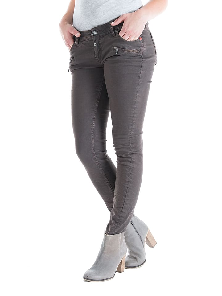 "Timezone Jeans ""Aleena"" - Slim fit - in Grau"