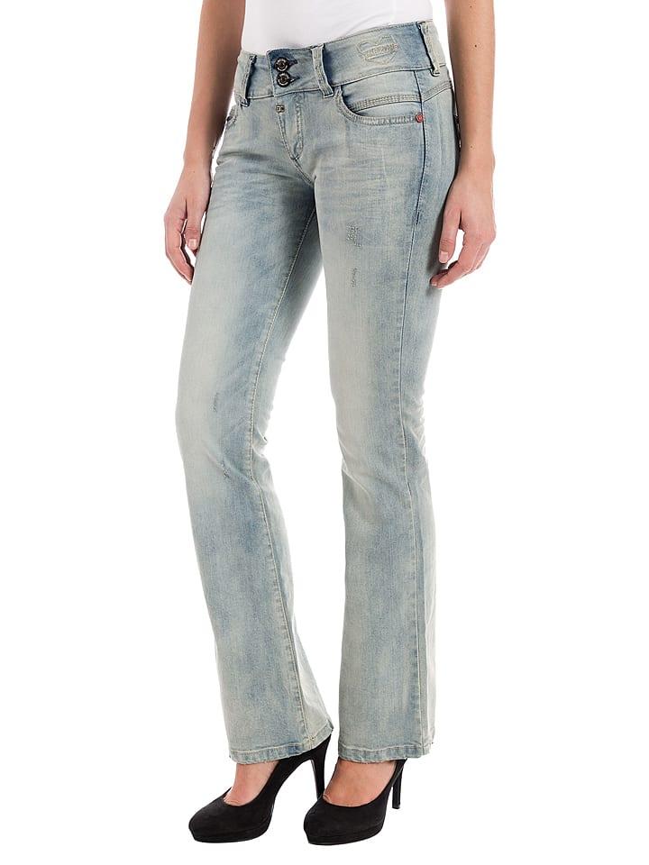 "Timezone Jeans ""Greta"" - Slim fit - in Hellblau"